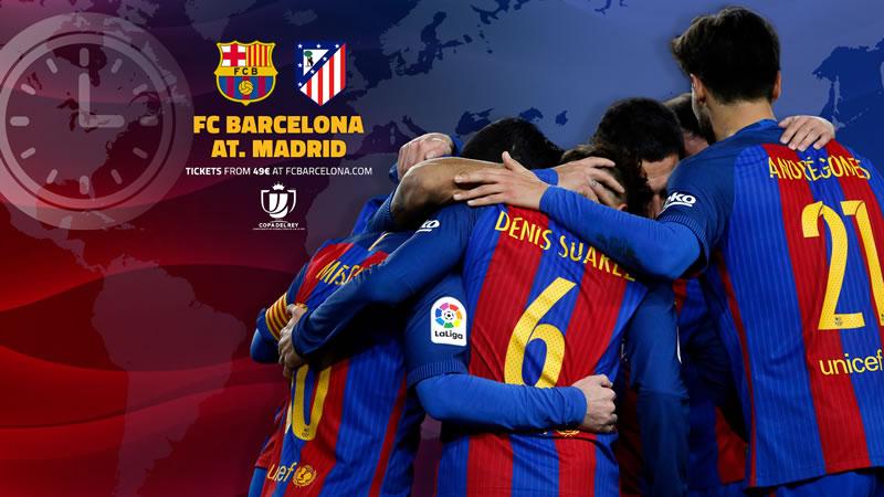 Barcelona vs Atlético de Madrid, Semifinal Copa del Rey 2017 | Resultado: 1-1 - barcelona-vs-atletico-madrid-semifinal-copa-del-rey-2017