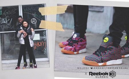 Court Victory Pump: el sneaker de Reebok creado por Melody Ehsani y Hassan Hajjaj