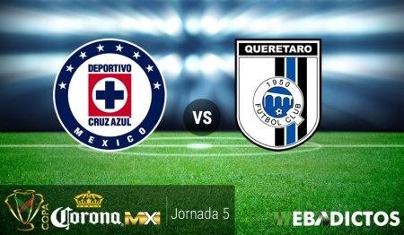 Cruz Azul vs Querétaro, Copa MX Clausura 2017 ¡En vivo por internet! | Jornada 5