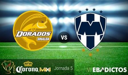 Dorados vs Monterrey, J5 Copa MX Clausura 2017 | Resultado: 0-5