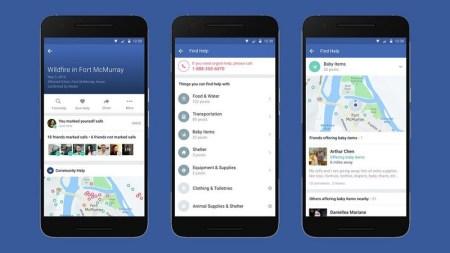 Facebook lanza Community Help para mejorar Safety Check