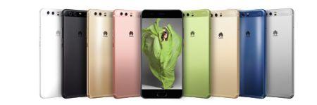 Huawei renueva su línea P con los P10 y P10 Plus