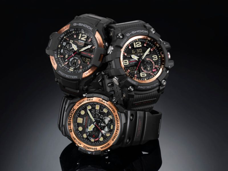 master of g vintage rose gold de g shock 2 800x600 G Shock lanza Master of G Vintage Rose Gold, edición 2017