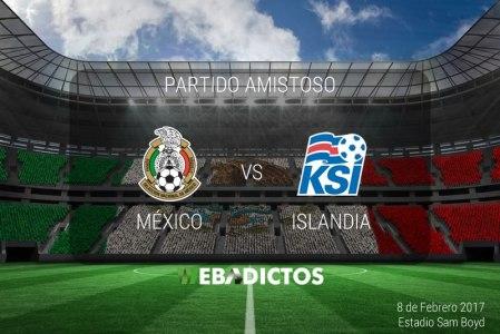 México vs Islandia, partido amistoso 2017 | Resultado: 1-0