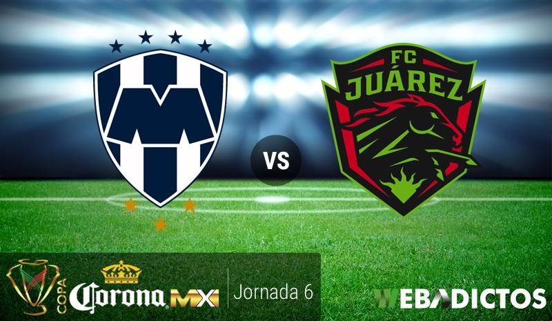 Monterrey vs Juárez, Jornada 6 Copa MX C2017 | Resultado: 2-1 - monterrey-vs-juarez-j6-copa-mx-clausura-2017