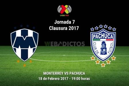 Monterrey vs Pachuca, Jornada 7 del Clausura 2017 | Resultado: 1-0
