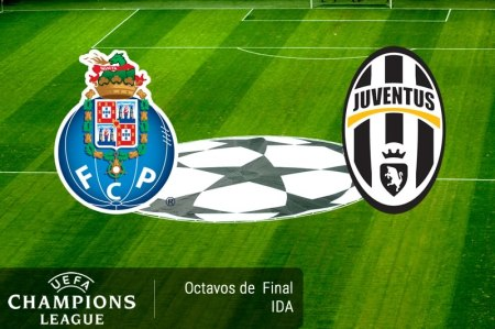 Porto vs Juventus, Champions League 2017 ¡En vivo por internet!