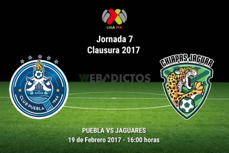 Puebla vs Jaguares, J7 del Clausura 2017 ¡En vivo por internet!