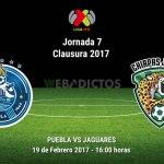 Puebla vs Jaguares, J7 del Clausura 2017 | Resultado: 3-0