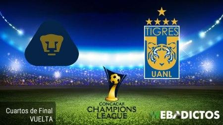 Pumas vs Tigres, Concachampions 2017 ¡En vivo por internet! | Cuartos de Final