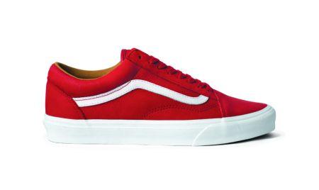 Lanzamiento de VANS is SideStripe con 6 modelos Premium - vans_rojo_choclo