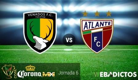 Venados vs Atlante, Jornada 6 Copa MX Clausura 2017 ¡En vivo por internet!