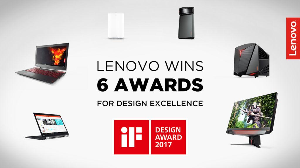 2017 if design award lenovo Lenovo es galardonado por su excelencia en diseño en el iF Design Award