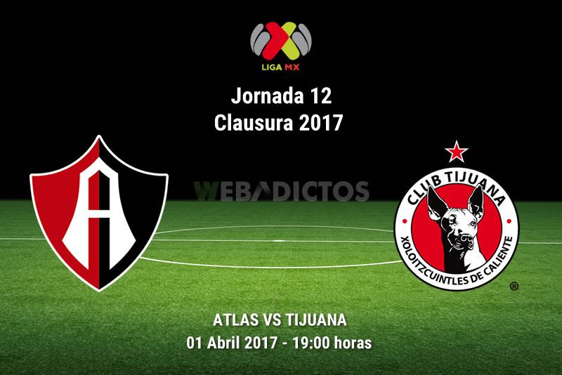 Atlas vs Tijuana, J12 del Clausura 2017 | Resultado: 3-3 - atlas-vs-tijuana-j12-clausura-2017