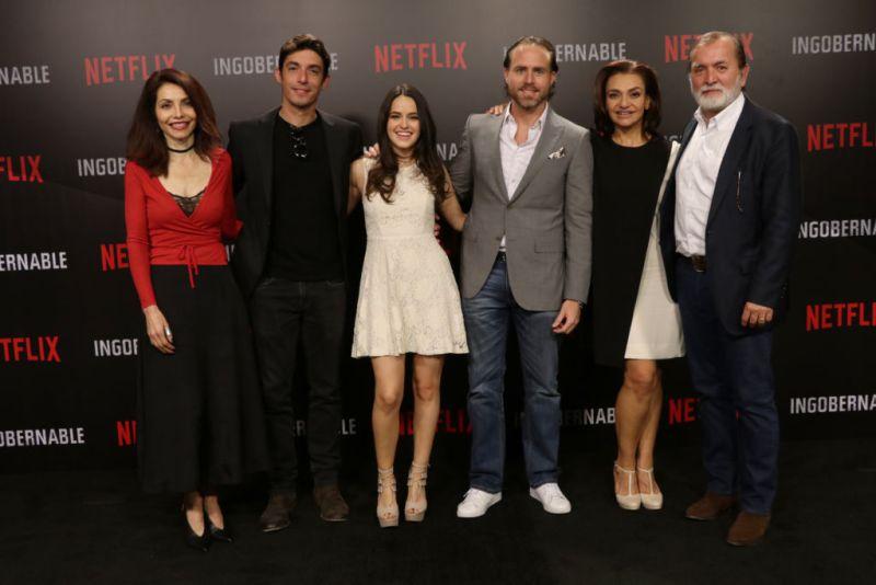 Ingobernable serie original de Netflix llega a la CDMX - elenco-ingobernable-800x534