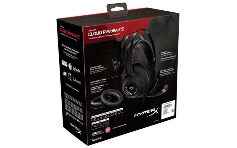 Audífonos Cloud Revolver S HyperX ¡Ya disponibles! - hyperx-cloud-revolver-s-packaging-800x500