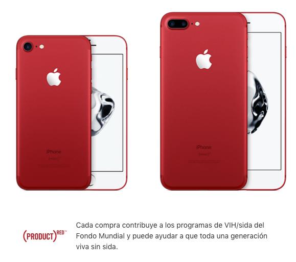 Lanzamiento del iPhone 7 y Plus (PRODUCT) RED en AT&T - iphone-7-y-iphone-7-plus-product-red-edicion-especial