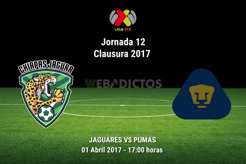 Jaguares vs Pumas, Jornada 12 del Clausura 2017   Resultado: 0-3 - jaguares-vs-pumas-j12-clausura-2017