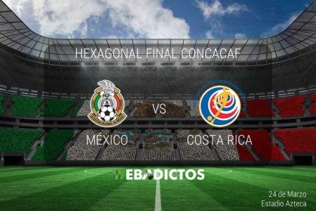 México vs Costa Rica, Eliminatorias Rusia 2018 ¡En vivo por internet!