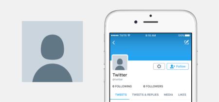 Twitter modifica la foto de perfil predeterminada
