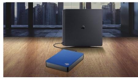 PlayStation 4 ya es compatible con los discos externos Seagate