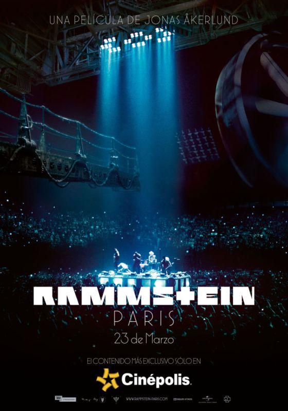 Cinépolis presenta en exclusiva concierto de Rammstein desde París - ramstein-paris-cinepolis-560x800