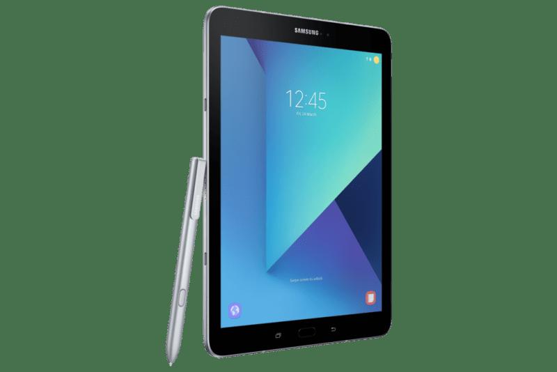 Lanzamiento de Samsung Galaxy Tab S3 en México - samsung-tabs3_l-perspective-pen_silver_wifi-800x534