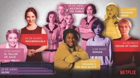 Series originales de Netflix con mujeres auténticas que se estrenan en 2017