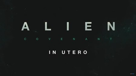 ALIEN: COVENANT In Utero, experiencia de realidad virtual para Oculus