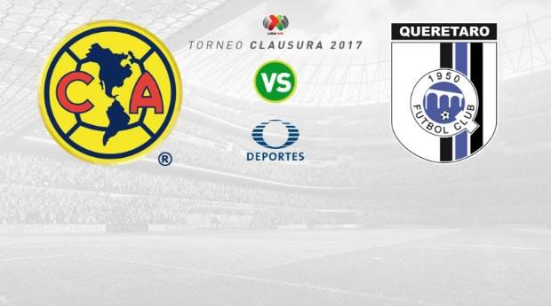 América vs Querétaro, J14 Liga MX Clausura 2017 | Resultado: 1-0 - america-vs-queretaro-clausura-2017-en-vivo