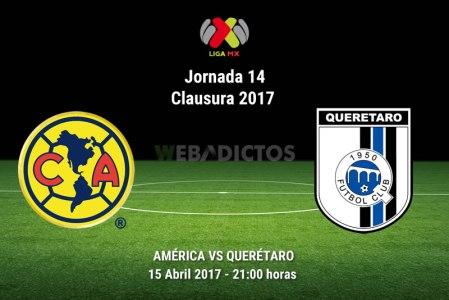 América vs Querétaro, J14 Liga MX Clausura 2017 | Resultado: 1-0