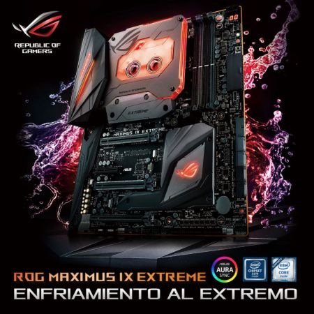 ASUS Republic of Gamers Anuncia Maximus IX Extreme