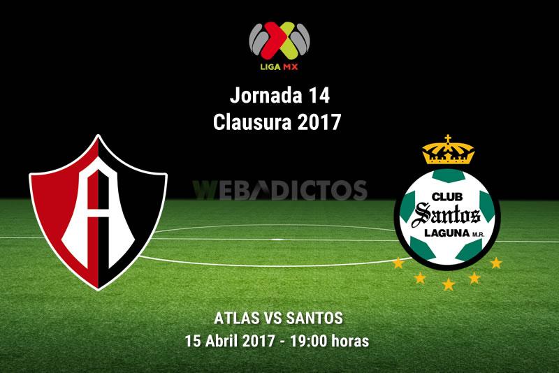 Atlas vs Santos, Jornada 14 Liga MX C2017 | Resultado: 1-1 - atlas-vs-santos-j14-clausura-2017