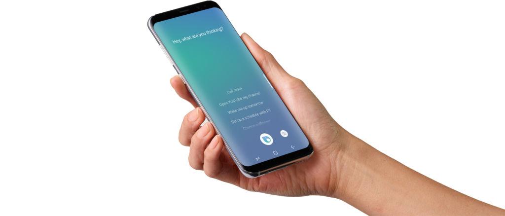 Bixby puede instalarse en cualquier equipo Samsung con Android Nougat - bixby-galaxy-s8