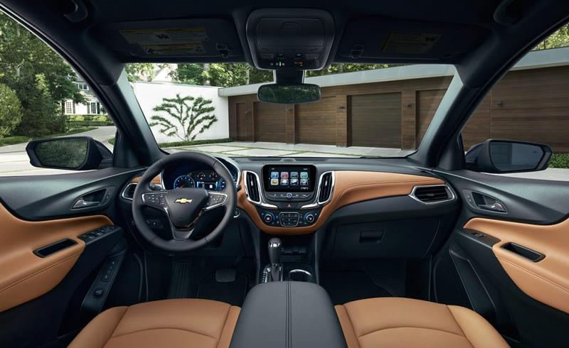 Chevrolet Equinox 2018 llegara a México a mediados de este año - chevrolet-equinox-2018-interior