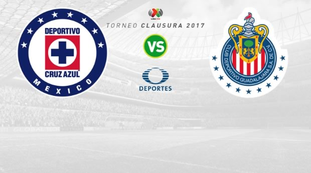 Cruz Azul vs Chivas, J15 Liga MX Clausura 2017 | Resultado: 2-1 - chivas-vs-cruz-azul-en-vivo-clausura-2017
