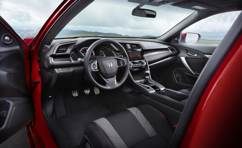civic si 2017 csc17 012 Conoce el nuevo Honda Civic Si 2017