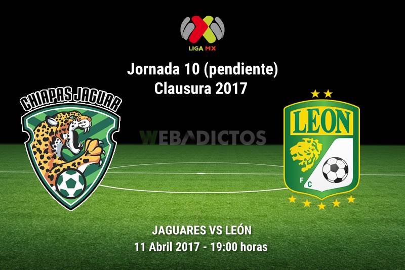 Jaguares vs León, J10 (pendiente) del Clausura 2017 | Resultado: 0-0 - jaguares-vs-leon-j10-clausura-2017