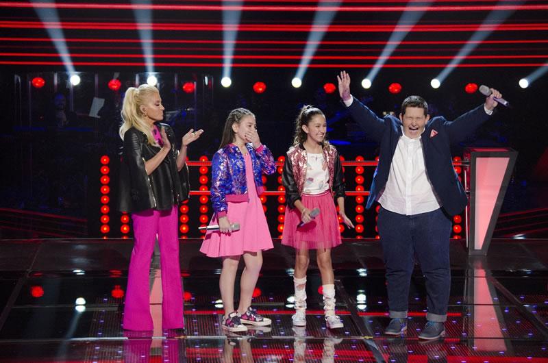la voz kids mexico 2017 2 eduardo paoly karla Primeros vencedores de Las Batallas en La Voz Kids México 2017