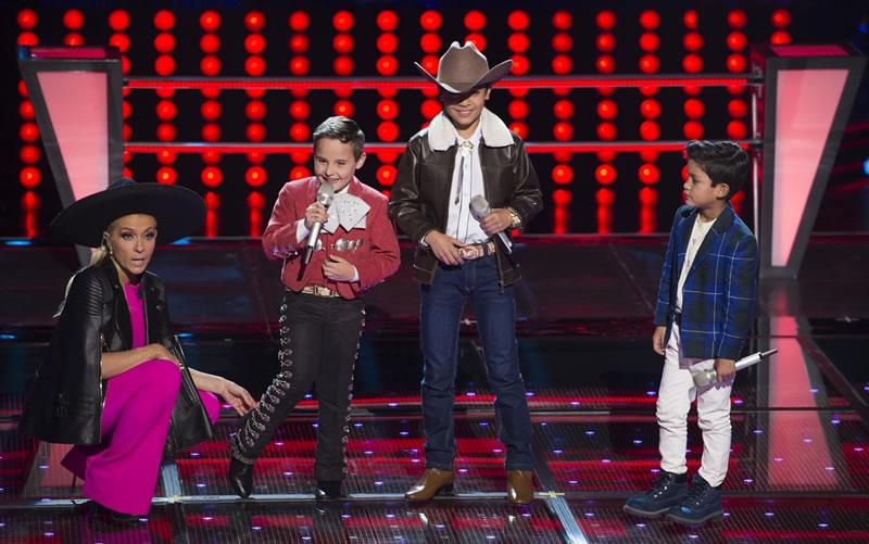 Primeros vencedores de Las Batallas en La Voz Kids México 2017 - la-voz-kids-mexico-2017-6-ponchito-alejandro-santiago-ervey