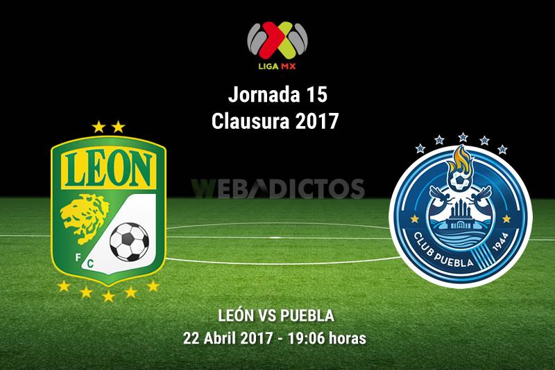 León vs Puebla, Fecha 15 del Clausura 2017 ¡En vivo por internet!   Liga MX - leon-vs-puebla-j15-clausura-2017