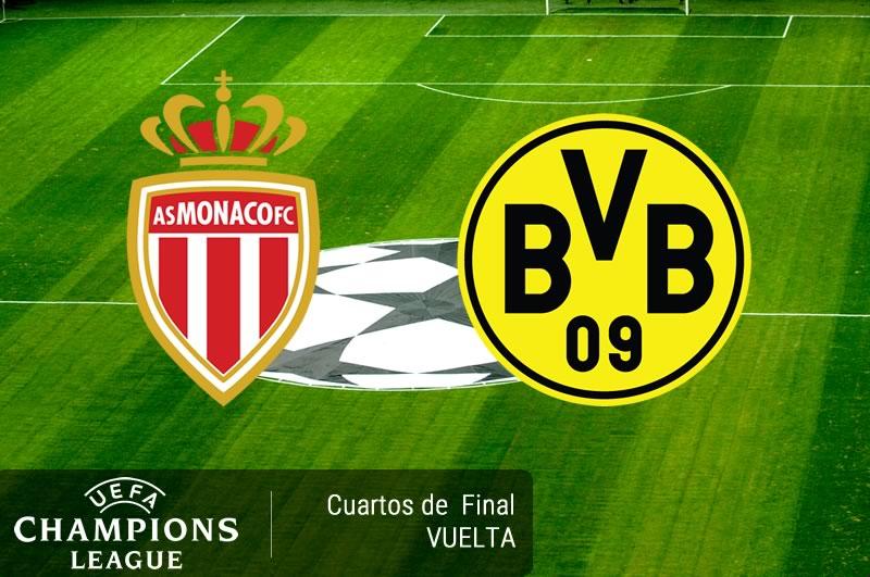 monaco vs dortmund cuartos champions 2017 Mónaco vs Dortmund, Champions League 2017 | Resultado: 3 1