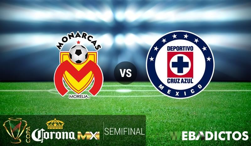 Morelia vs Cruz Azul, Semifinal Copa MX C2017   Resultado: 1-0 - morelia-vs-cruz-azul-copa-mx-clausura-2017