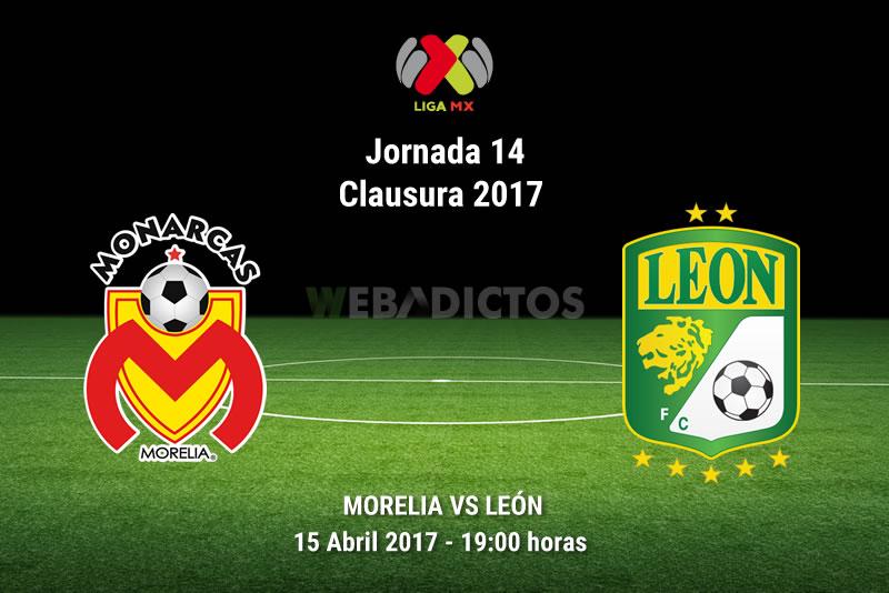 Morelia vs León, Jornada 14 del Clausura 2017   Resultado: 1-2 - morelia-vs-leon-j14-clausura-2017