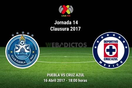 Puebla vs Cruz Azul, J14 del Clausura 2017 | Resultado: 2-1