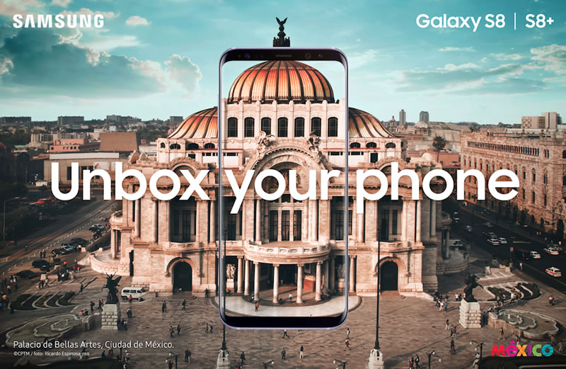 Samsung Galaxy S8 fue presentado en México - samsung-galaxy-s8-mexico-presentacion