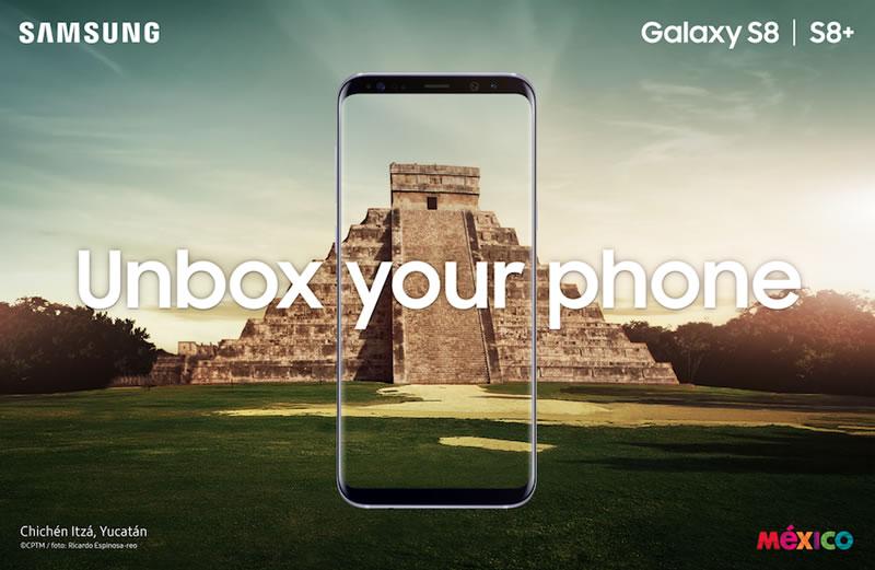 Samsung Galaxy S8 fue presentado en México - samsung-galaxy-s8-mexico