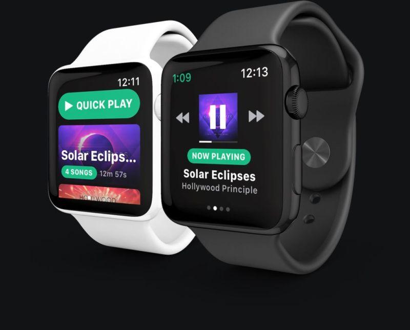 Spotify lanzará una app para Apple Watch - snowy-spotify-official