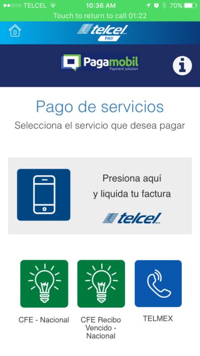 Telcel Pay para iOS, nueva aplicación de compras y pagos desde el smartphone - telcel-pay-pospago-factura-telcel