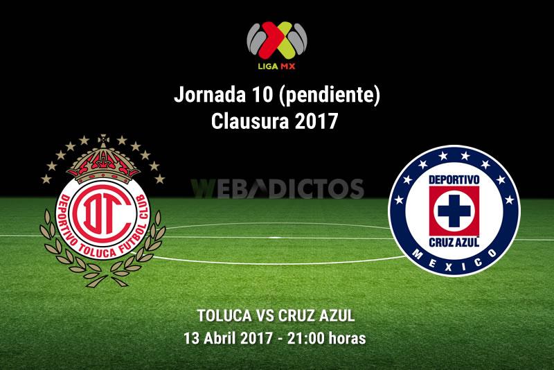 Toluca vs Cruz Azul, Jornada 10 Clausura 2017   Resultado: 0-2 - toluca-vs-cruz-azul-j10-pendiente-clausura-2017